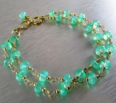 Precious Gemstone Chains