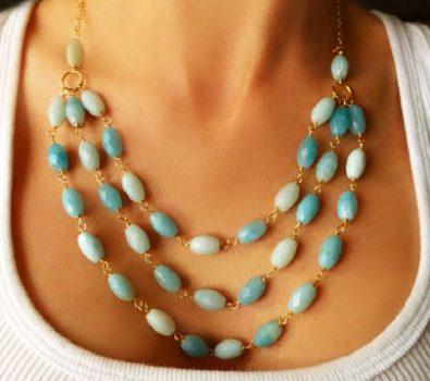 Semi-Precious Gemstone Chains